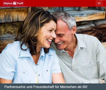 50Plus-Treff.de Webseite