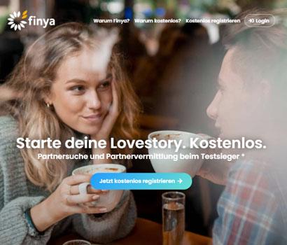 Finya Webseite