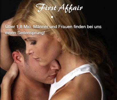 FirstAffair Webseite