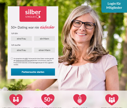 Silbersingles Webseite