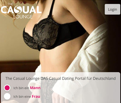 The Casual Lounge Webseite