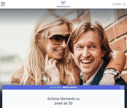 Zusammen.de Webseite