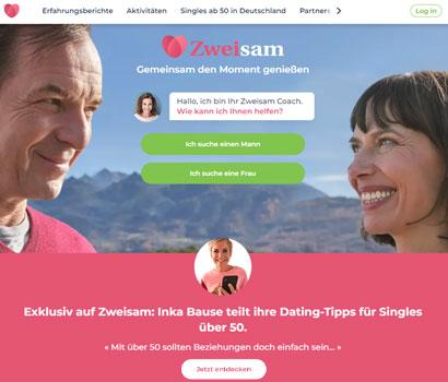 Zweisam Webseite